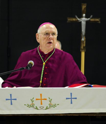 Longtime Baltimore auxiliary Bishop William Newman dies
