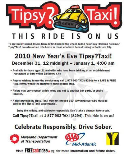 The Tipsy? Taxi! poster from 2010