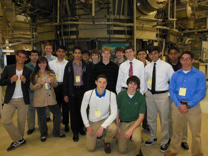 River Hill High School's Team Rocket visits Goddard Space Flight Center.