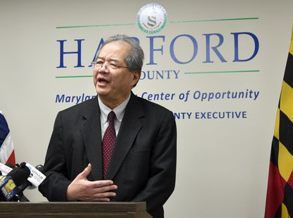 Harford County Health Officer Dr. Russell Moy, who has guided the county's Health Department during the coronavirus pandemic, announced earlier this week he plans to retire in the fall.