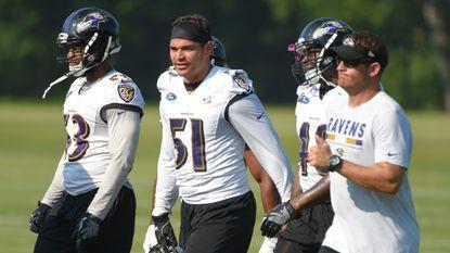 Despite some 'head scratchers,' Ravens inside linebacker Kamalei Correa enjoyed 'a pretty good game'