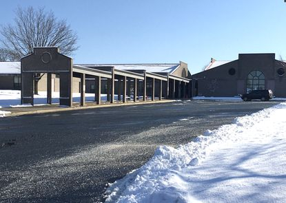 A Harford County Public Schools employee suffered minor injuries Wednesday morning, Jan. 8, after she was struck by a snow plow in the parking lot of North Bend Elementary School in Jarrettsville.