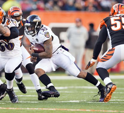 Ravens running back Anthony Allen was one of the players who received more playing time in the regular-season finale after Ravens coach John Harbaugh rested many of his starters.