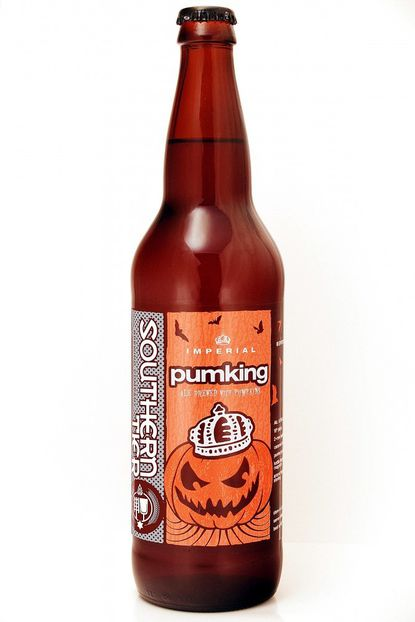 A bottle of Southern Tier Brewing Company's Pumking beer is shown. Labor Day may be considered the unofficial end of summer, but some craft brewers couldn't even wait until then to roll out their pumpkin and other fall seasonal beers. Many already have been in stores and on taps for a month.