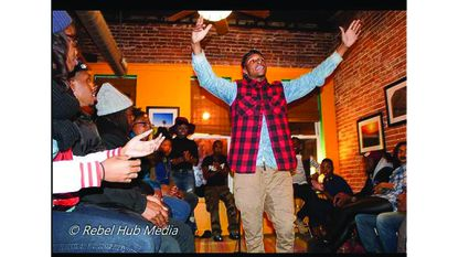 Friday: Floetic Friday: Hip Hop Open Mic on Black Love