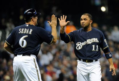 Alex Gonzalez batted .177 with a .203 on-base percentage for the Milwaukee Brewers last season.