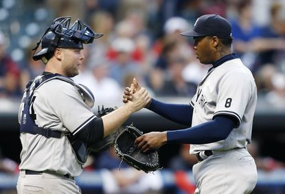 McCann's RBI Double In 11th Lifts Yankees Past Indians