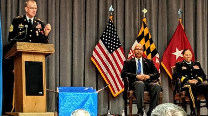 Dayhoff: Citizen soldier Tom Beyard retires after 37 years of service