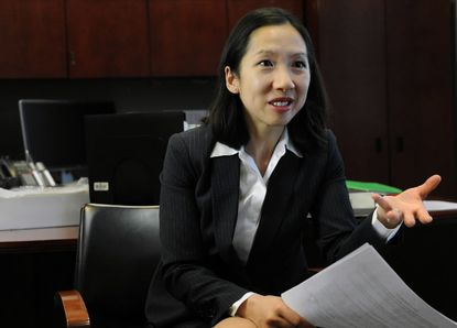 Dr. Leana Wen testifies about opioid addiction to Congress.