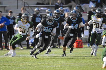Johns Hopkins sophomore and former Westminster standout Dan Johnson (28) has helped the Blue Jays go 10-0 this season and make a trip to the playoffs.