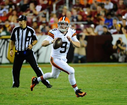 Connor Shaw will make first NFL start Sunday against Ravens