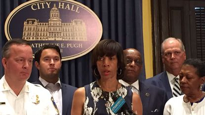 Baltimore leaders propose a mandatory one-year sentence for illegal gun possession.