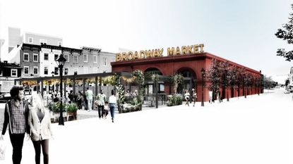 Broadway Market's new fish and crab house will be called The Choptank