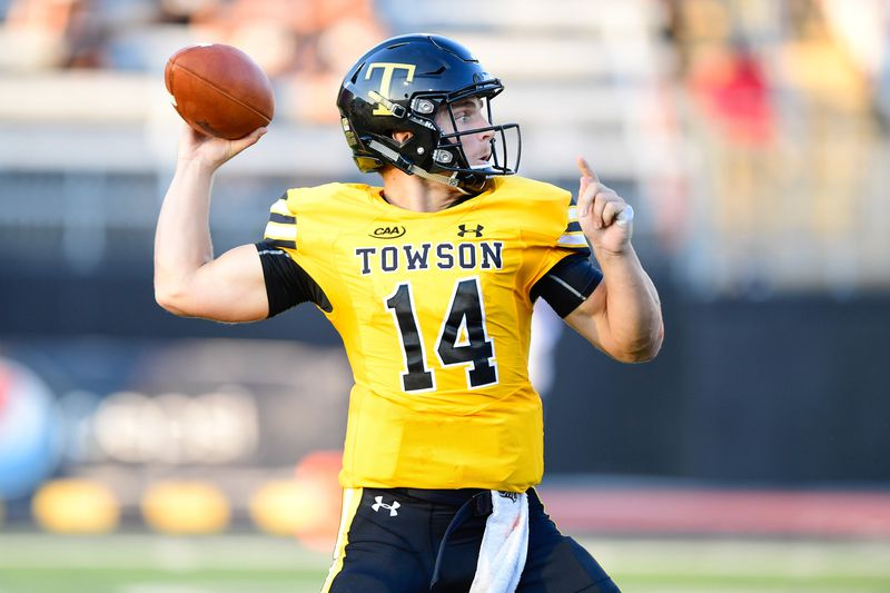 Brothers in arms: Towson QB Tom Flacco may be 'cool' like Joe, but ...