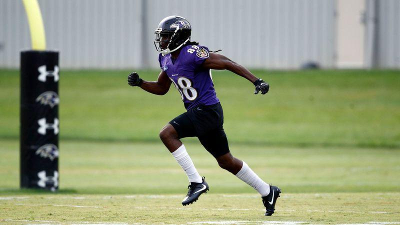 Rookie wide receiver Quincy Adeboyejo missing from Ravens practice ...