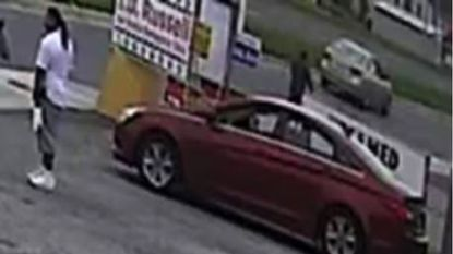 Aberdeen Police released a surveillance camera frame of a suspect they are seeking in connection with a stabbing in the city Thursday afternoon.