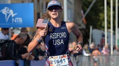 Triathlete Gabi Redford 12th in age group at world championships