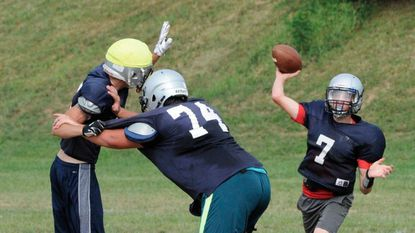 The Manchester Valley football team dropped its opener to Williamsport, 12-7, Saturday.