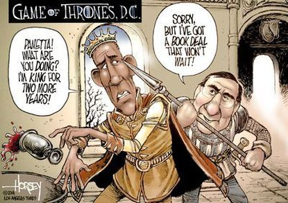Panetta's hit on Obama