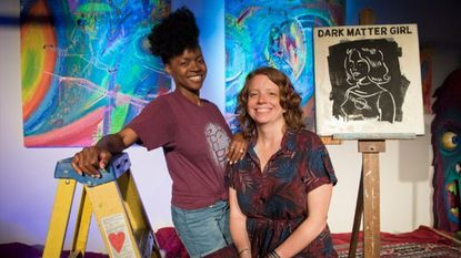 Darin Gilliam and Alison Harbaugh are the owners of ArtFarm, the arts education and gallery space, that will have a grand reopening on Friday, May 31.