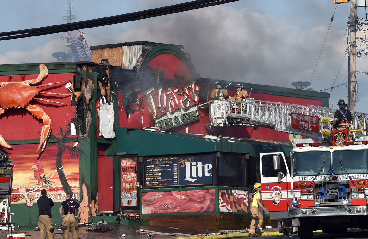 Fire Reported At Loafers Sports Bar And Grill In