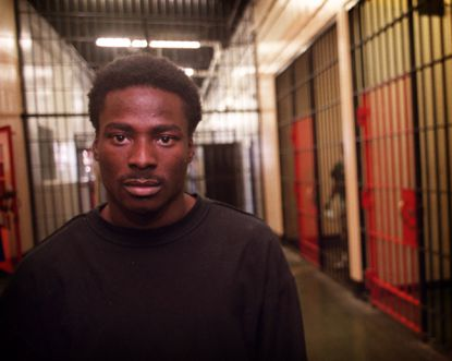Antoine Pettiford in a 1999 file photo taken at the Baltimore City Detention Center.