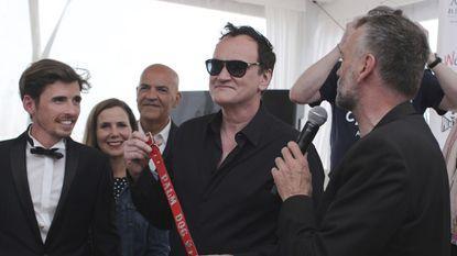 Quentin Tarantino wins top dog award at Cannes Film Festival