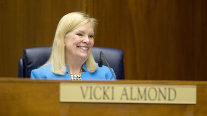 Councilwoman Vicki Almond has received the endorsement of the Baltimore County police union in the race for county executive.