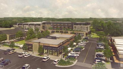 Kimco's proposal for the redevelopment of Hickory Ridge Village Center could be completed by 2022 if approvals are granted. Some neighbors continues to question the plans at a Thursday night meeting.