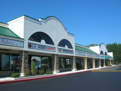 Bel Air Town Center has recently been renovated.