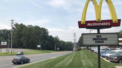 The Lozinak family, which owns eight McDonald's franchises in Cecil and Harford counties, including this location along Route 1 in Fallston, is selling the restaurants to focus more on the family's minor-league baseball team. The sale should be complete by the end of August.