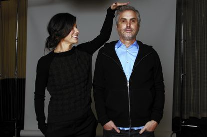 """Actress Sandra Bullock found herself pulled into the orbit of """"Gravity"""" director Alfonso Cuaron."""