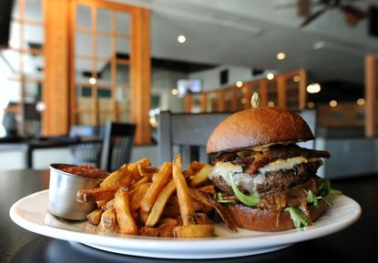 Readers have previously voted The White Oak Tavern's burgers the best in Howard County.