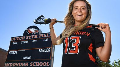 Blair Pearre, who graduated this spring from McDonogh, scored 54 goals to help lead the Eagles to a consensus No. 1 national ranking. She will be playing lacrosse for Towson University next fall.