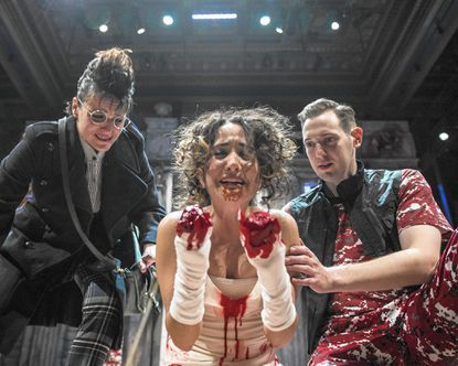 Inglorious Bastards: Chesapeake Shakespeare Company revels in the absurd violence of 'Titus Andronicus'