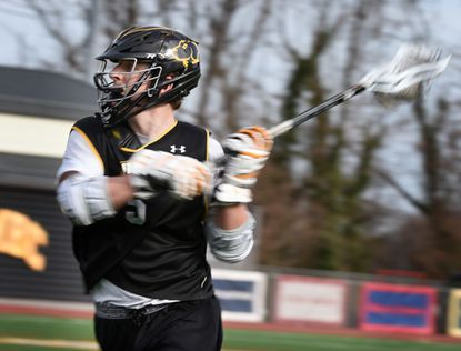 With eagle-eyed Max Maxwell, UMBC men's lacrosse players are always open