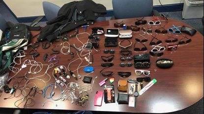 Hampstead police recover assorted items stolen from vehicles