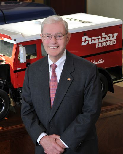 James L. Dunbar Sr. started Federal Armored Express in Baltimore in 1956. The family sold the business, by then renamed Dunbar Armored, in 2018 to The Brink's Co.