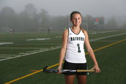 Atholton senior forward Jen Bleakney, 17, played field hockey for five years and plans to continue playing at Syracuse next year.