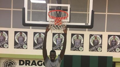 With a 7-foot-11 wingspan, Chol Marial is expected to be a rim-protector for the Terps next season.