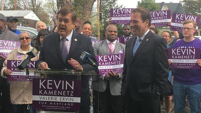 Maryland Congressman Ruppersberger endorses Kevin Kamenetz for governor