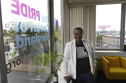Mimi Demissew, executive director of Pride Center of Maryland, is aligning the organization with the Black Lives Matter movement, as part of Pride celebration.