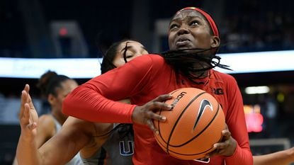 Maryland's Kaila Charles finished eighth in the Big Ten in scoring (18.1 points per game) and rebounding (8.3 per game) and fifth in field-goal percentage (.520).