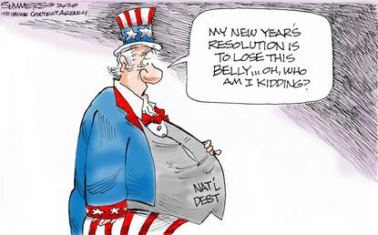 National debt grows