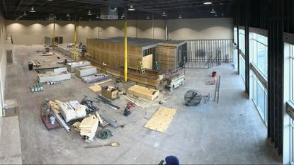 Balt County Brewing's brewery and taproom are currently under construction in Hunt Valley.