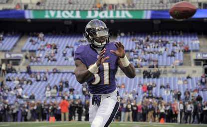 Ravens rookie safety Terrence Brooks hasn't taken a defensive snap wince the Nov. 24 game in New Orleans.