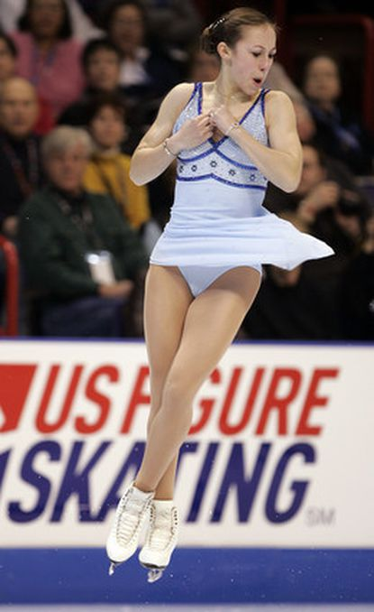 Kimmie Meissner's score of 65.69 in the U.S. Figure Skating Championships' short program was a personal best.