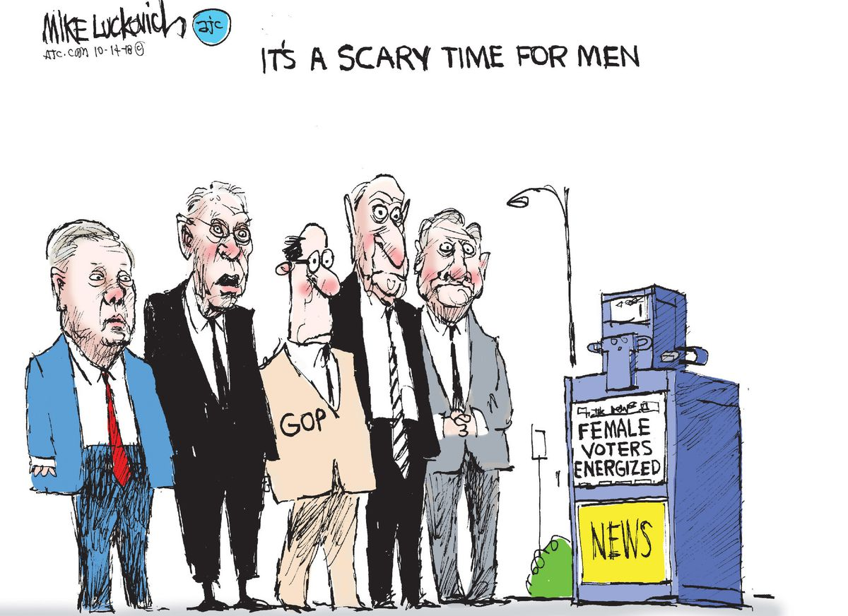 The Gop S Female Problem Baltimore Sun