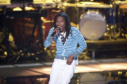 """Moses Stone, a native of Laurel, Md., marked the first time anyone has rapped on """"The Voice."""""""