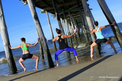 InnerFit Barre and Dance Fitness in Nags Head, N.C., has seen an increase in vacationer exercising.